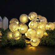 Cocolight Globe Solar String Lights, 4.6m 30 LED Fairy Lights, Outdoor Solar Lights for Home, Garden, Patio, Lawn, Party and Holiday Decoration