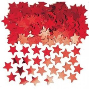Stardust Red Stars Table Confetti Sprinkles 14g