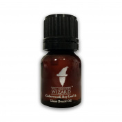 Well Groomed Wizard, Beard Oil for men with blended ingredients for a Natural Beard Oil - Cedarwood, Bay Leaf & Lime - 10ml