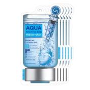 TOSOWOONG Aqua Tok Tok Co2 Mask Pack 5Pcs/Co2/Whitening/Anti-Wrinkle