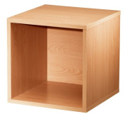Foremost 327622 Modular Open Cube Storage System, Honey