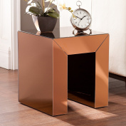 Harper Blvd Chastain Bronze Mirrored Accent Table