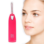 Flyco Mini Portable Heated Eyelash Curlers with LED Light Battery-Operated
