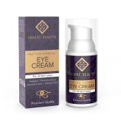 Anti Ageing Firming Eye Cream | Peptide Moisturiser Lotion For All Skin Types | Advanced Stem Cell + Collagen Formula For Tightening Sagging Skin & Reducing Dark Circles | 1 oz/30 ML | by Desert Beauty