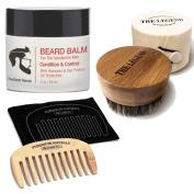 My Best Beard Oil Brush, Balm and Comb Kit For Men