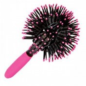 YBeauty Queen 3D Spherical Hot Curling Tangle Free Brush