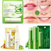 BIOAQUA Canola Honey Aloe Green Tea Lip Balm Deep Moisture Smooth Care