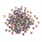 Nizi Jewellery Hotfix Rhinestones New Gold Rainbow Colour SS16 4MM 1440PCS Nail Art Strass Shiny Stone Diy Craft Tiny Rhinestone Perfect for Nail art