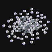 Nizi Jewellery Hotfix Rhinestones New Shiny Star Colour SS16 4MM 1440PCS Nail Art Strass Shiny Stone Diy Craft Tiny Rhinestone Perfect for Nail art