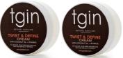 tgin Twist and Define Natural Hair Care Cream with Vitamin E and Coconut Oil 350ml
