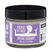 PRIMAL PIT PASTE All Natural Lavender Deodorant | 60ml Jar | NO Aluminium, NO Parabens | For Women and Men of All Ages | Non-GMO, Cruelty Free, Earth Friendly, BPA Free