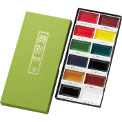 Common Japanese bamboo __ picture letter 12 colours set MC20/12V