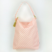Waterproof Hobo Bag - Nappy Bag, Cloth Nappy Wet Bag with Dry Pocket, Nappy Tote - Swimsuits + Travel, Nappies + Feeding On-the-Go, Made in USA