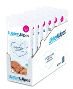 WaterWipes Sensitive Baby Wipes Natural & Chemical-Free, 196 Count [Pack of 7]