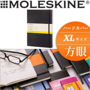 Leak; skin MOLESKINE / classical music notebook hard cover (XL size) squares notebook