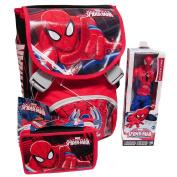 Spiderman Backpack School Pack C/Gadget Superpower