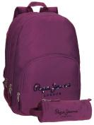Pepe Jeans School Backpack, berry (purple) - 6682456