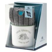 Aroma Home Ceramic Mug & Men`s Socks - Shed Quarters