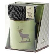 Aroma Home Ceramic Mug & Men`s Socks - Stag