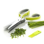 Zodic Herb Scissors Security Shredding Scissors Cutting Stainless Steel Kitchen