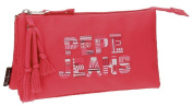 Pepe Jeans Samantha Beauty Case, 22 cm, 1.32 litres, Red