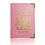 Passport Holder For UK And European Passport Protector Cover Wallet PU Leather by Lizzy®
