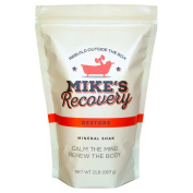Mike's Recovery RESTORE 0.9kg POUCH Mineral Soak- Bath Salt Muscle Restore