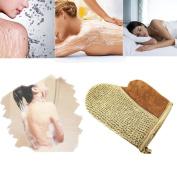 Bath Shower Gloves Loofah Back Strap Exfoliating Spa Body Bath Shower Gloves Soap Clean Hygiene Glove