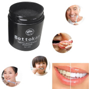 Hunputa Activated Charcoal Teeth Whitening Tooth and Gum Powder. A Safe All Natural Toothpaste Whitener Alternative.