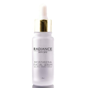 Radiance Skin Care - Moisturising Facial Serum with Hyaluronic Acid | Natural Anti-Ageing Skincare Treatment | Witch Hazel, Aloe, Jojoba Oil | Anti-Ageing Acne & Dark Spot Corrector - 60mg / 60ml