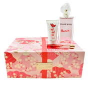 Hanae 3 Pc Gift Set ( Eau De Parfum Spray 100ml + Roller Ball 10ml+ Body Cream 50ml ) for Women