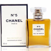 Chánél No. 5 Paris Eau De Parfum Eau De Parfum 1.7 oz / 50 ml, NEW SEALED