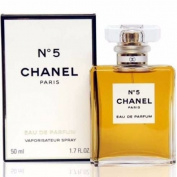 Chánél No. 5 Paris Eau De Parfum Eau De Parfum 1.7 oz / 50 ml, NEW SEALED