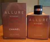 Allure Homme Sport by Chánél Eau Extreme 3.4 oz 100 ml Spray for Men Sealed