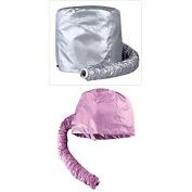 Thinkmax Practical Home Salon Barber Hair Dryer Bonnet Hood Attachment Hairdressing Hat Cap Random Colour