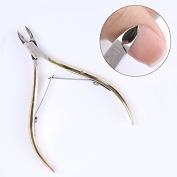 NICOLE DIARY Nail Cuticle Nipper Clipper Manicure Scissor Plier Practical Dead Skin Remover