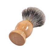 MSmask Pure Badger Hair Shaving Brush With Wooden Handle Shaving Brushes