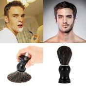 MSmask Pure Badger Hair Shaving Wooden Brush