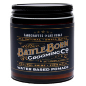 Pomade by Battle Born Grooming Co | All Natural Unorthodox Water Based Pomade | 120ml | 113 g