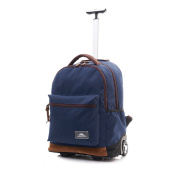 High Sierra Icon Wheeled Laptop Backpack Navy 34 Litre