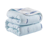 Cotton Baby Blankets Summer Quilt for Toddlers 110 X 110 CM - A5