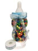 34cm inch Plastic Milk Bottle - Baby Shower game, Fillable Baby Shower Bank Plastic Decoration Centrepiece
