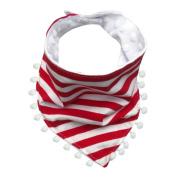 Baby Tassel Bibs, Inkach Kids Toddler Cotton Tassel Waterproof Bibs Saliva Towel