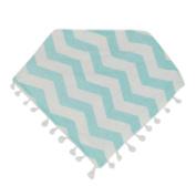 Baby Bibs, Inkach Kids Toddler Cotton Tassel Waterproof Bibs Saliva Towel