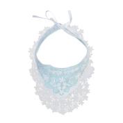 Baby Bibs, Inkach Toddler Girls Cotton Floral Lace Waterproof Bibs Saliva Towel