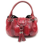 Thai Genuine Sea Snake Leather - Red