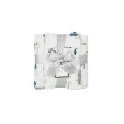 Tribal Cotton Muslin Gauze Baby Shower Blanket Gift Set { Be Brave Little One } 953