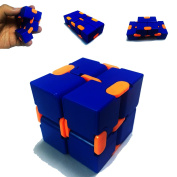 PojoTech Infinite Cube,Fidget Cube in Style With Pressure Reduction Toy - Killing Time Toys for For ADD, ADHD, Anxiety, and Autism Adult and Children