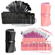 32pc Make Up Brush Set Foundation Contour Concealer Blusher Lip Powder Case New