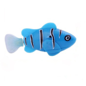 Vi.yo Flashy Electronic Pets Toy Lighting Swimming Diving Electric Turbot Clownfish Bath Toys for Kids Children